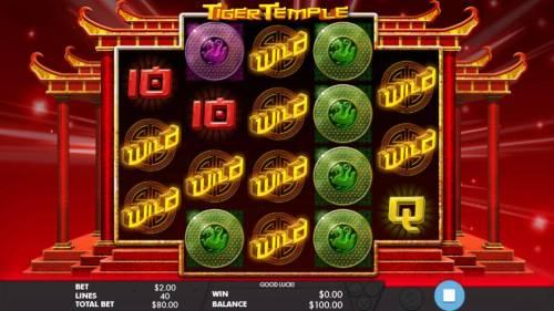 Tiger Temple review on Big Bonus Slots