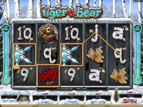 Tiger vs. Bear review on Big Bonus Slots