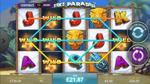 Tiki Paradise review on Big Bonus Slots