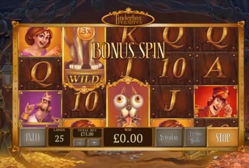 Tinderbox Treasure review on Big Bonus Slots