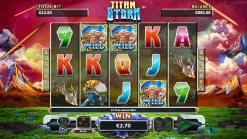 Titan Storm review on Big Bonus Slots