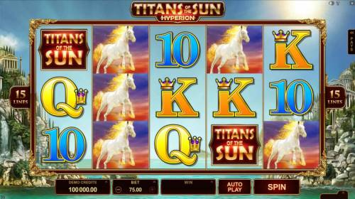 Titans of the Sun - Hyperion review on Big Bonus Slots