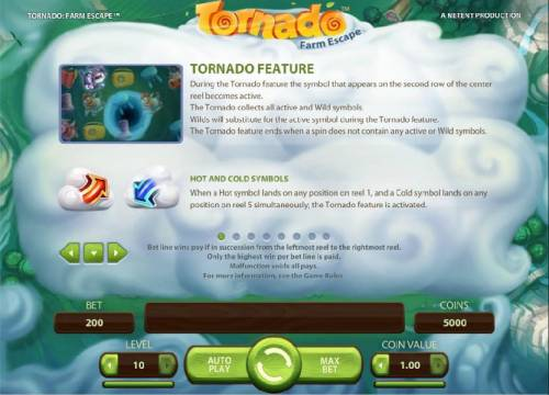 Tornado Farm Escape review on Big Bonus Slots