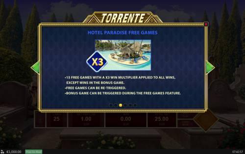 Torrente review on Big Bonus Slots