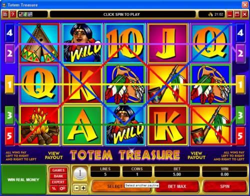 Totem Treasure review on Big Bonus Slots