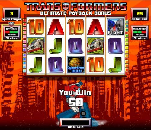 Transformers - Ultimate Payback review on Big Bonus Slots