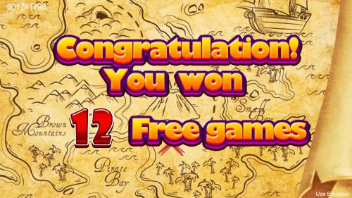 Treasure Island Big Bonus Slots 12 Free Games Awarded
