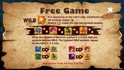 Treasure Island Big Bonus Slots Free Game Rules