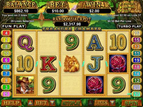 Treasure Chamber review on Big Bonus Slots