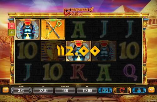 Treasures of Thebes Big Bonus Slots Three of a Kind