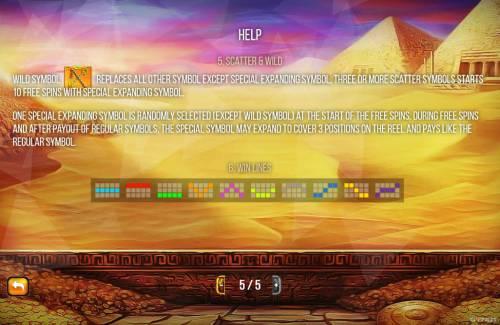 Treasures of Thebes Big Bonus Slots Feature Rules