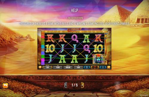 Treasures of Thebes Big Bonus Slots General Game Rules