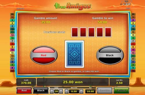 Tres Amigos review on Big Bonus Slots