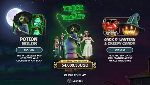 Trick or Treat Big Bonus Slots Introduction