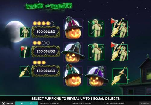 Trick or Treat Big Bonus Slots Bonus Picks