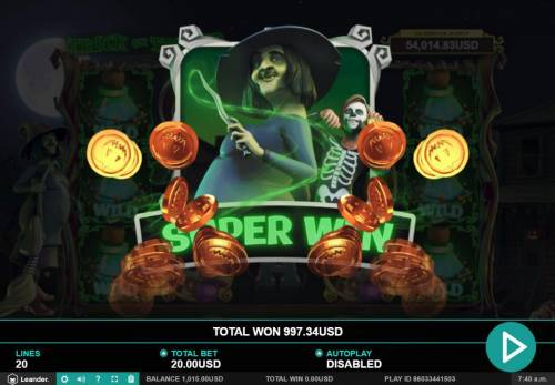 Trick or Treat Big Bonus Slots A Super Win Awarded