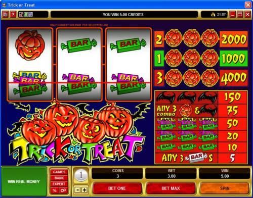 Trick or Treat review on Big Bonus Slots