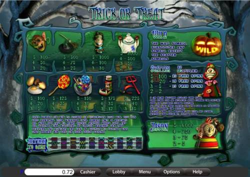 Trick or Treat review on Big Bonus Slots