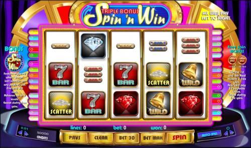 Triple Bonus Spin 'N Win review on Big Bonus Slots