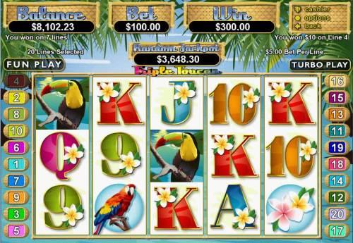 Triple Toucan Big Bonus Slots