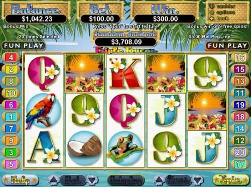 Triple Toucan Big Bonus Slots Bonus Round