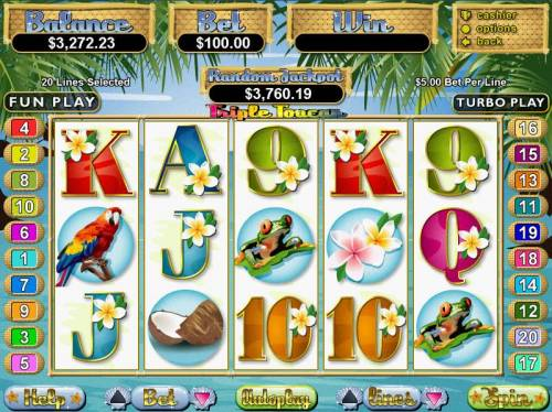Triple Toucan review on Big Bonus Slots