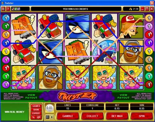 Twister review on Big Bonus Slots