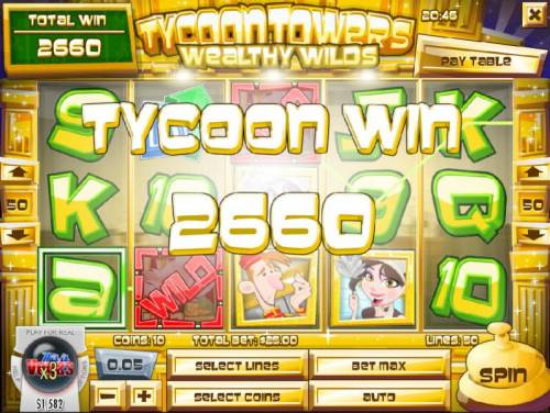 Tycoon Towers review on Big Bonus Slots