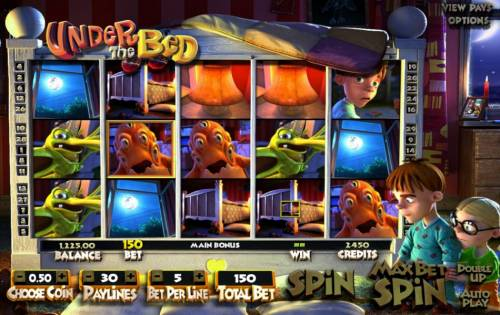 Under The Bed review on Big Bonus Slots