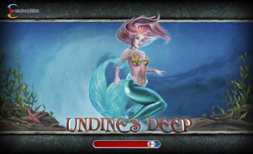 Undine's Deep Big Bonus Slots Splash screen - game loading