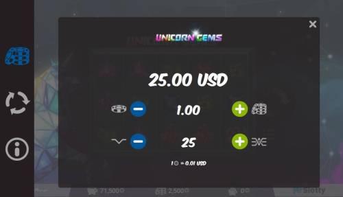 Unicorn Gems review on Big Bonus Slots