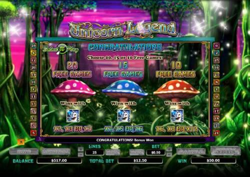 Unicorn Legend review on Big Bonus Slots