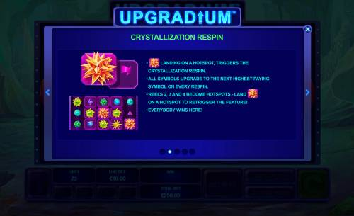 Upgradium review on Big Bonus Slots