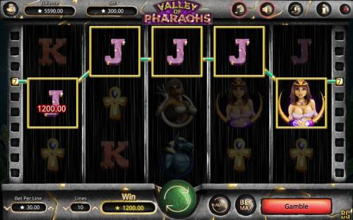Valley of Pharaohs review on Big Bonus Slots