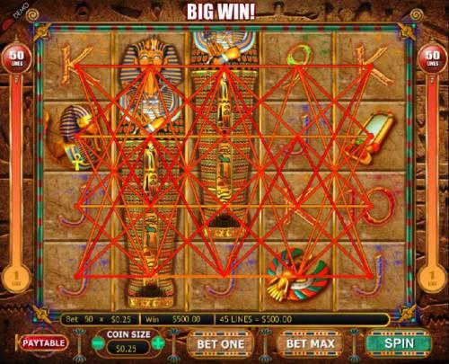 Valley of the Kings review on Big Bonus Slots