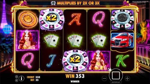 Vegas Nights review on Big Bonus Slots