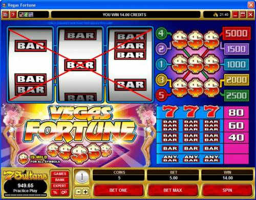 Vegas Fortune review on Big Bonus Slots