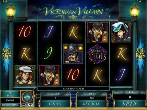Victorian Villain review on Big Bonus Slots