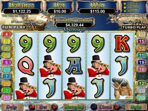 Victory review on Big Bonus Slots
