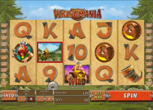 Viking Mania review on Big Bonus Slots