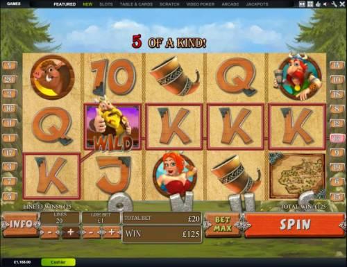 Viking Mania review on Big Bonus Slots