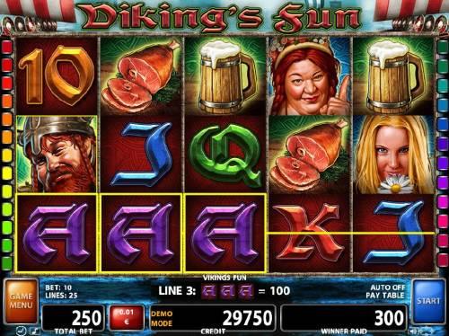 Viking's Fun review on Big Bonus Slots