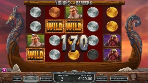 Vikings Go Berzerk review on Big Bonus Slots