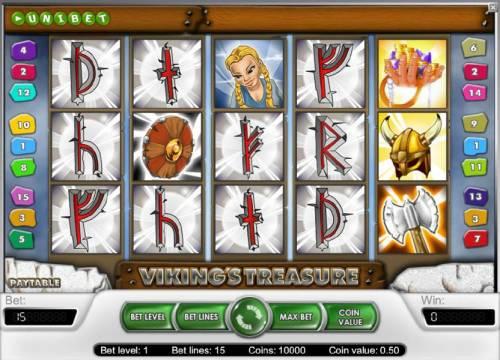 Viking's Treasure review on Big Bonus Slots