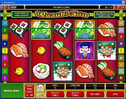 Wasabi-San review on Big Bonus Slots