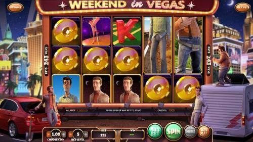 Weekend in Vegas review on Big Bonus Slots