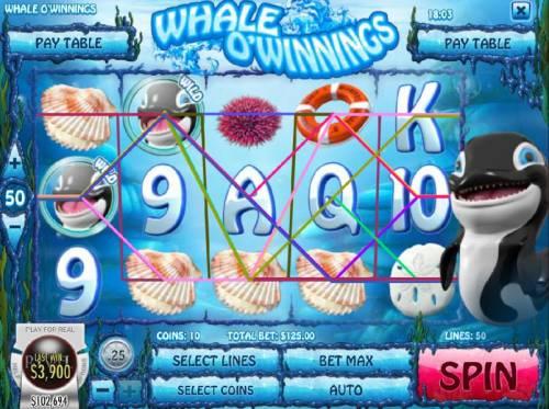 Whale O' Winnings review on Big Bonus Slots