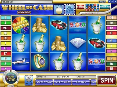 Wheel of Cash review on Big Bonus Slots