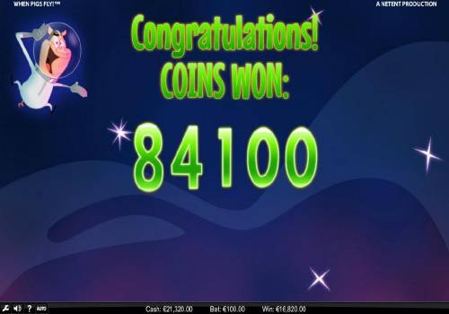 When Pigs Fly review on Big Bonus Slots
