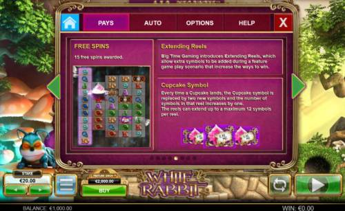 White Rabbit review on Big Bonus Slots